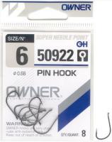 Háčky Owner Pin Hook 50922 vel.6 8ks/bal.