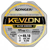 Šňůra Konger Kevlon X4 0,06mm/10m