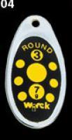 třpytka wirek 2,5g-round1-černá,žluté tečky