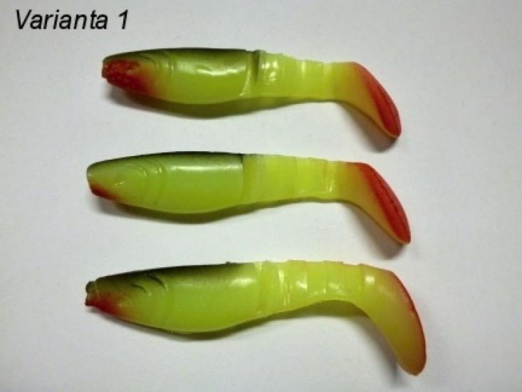 Ripper Ga-Ma 8cm rybka kopyto mix 3ks/bal.