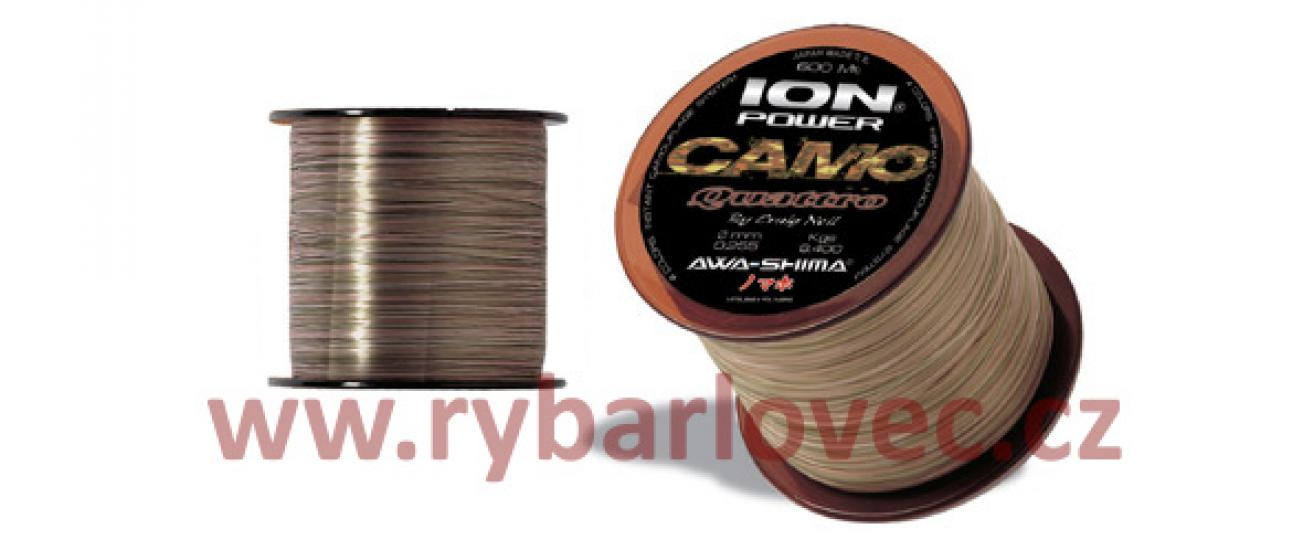 ION power camo quattro 0,22mm,300m-silon