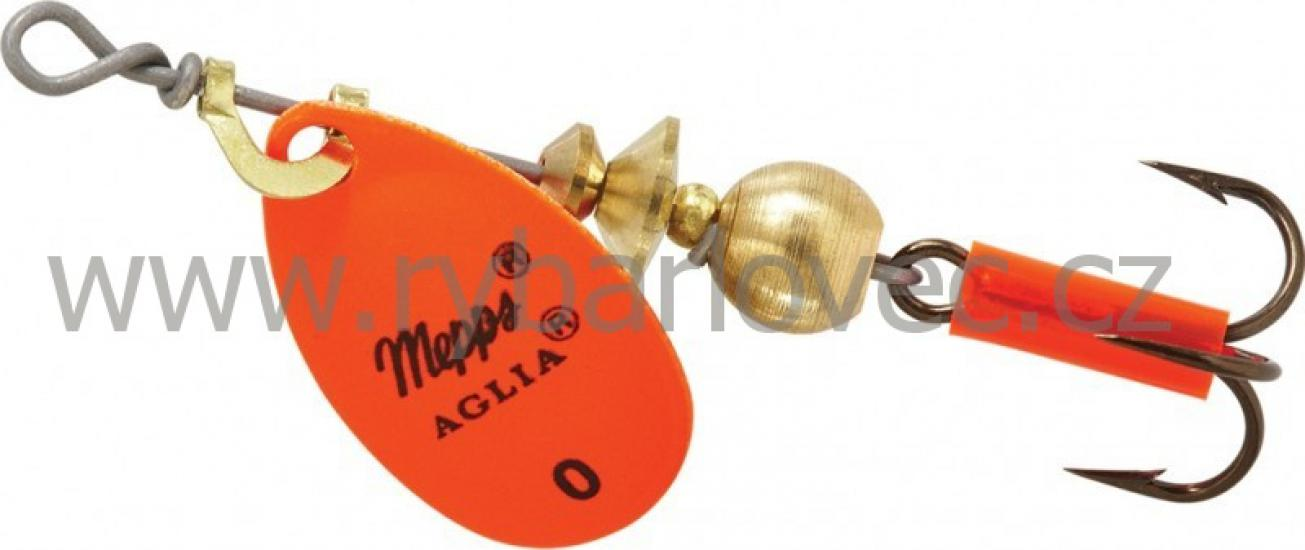 Mepps aglia fluo orange 0/2,5g