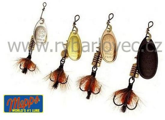 Mepps aglia mouche černá fly 00/1,5g