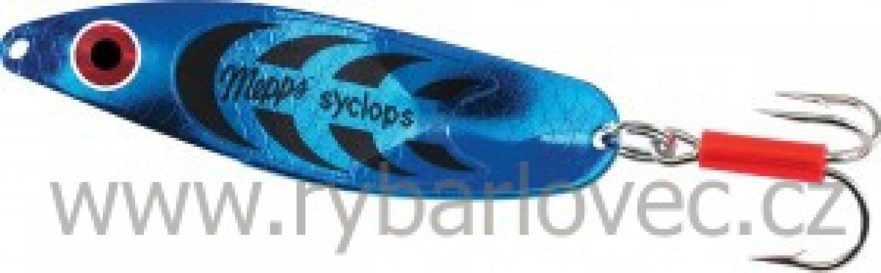Mepps syclops platium modrá 0/8g