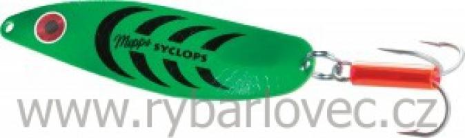 Mepps syclops platium zelená 0/8g