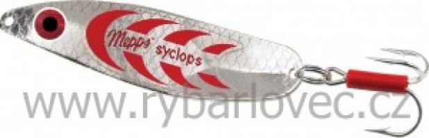 Mepps syclops stříbrno-červená 3/26g