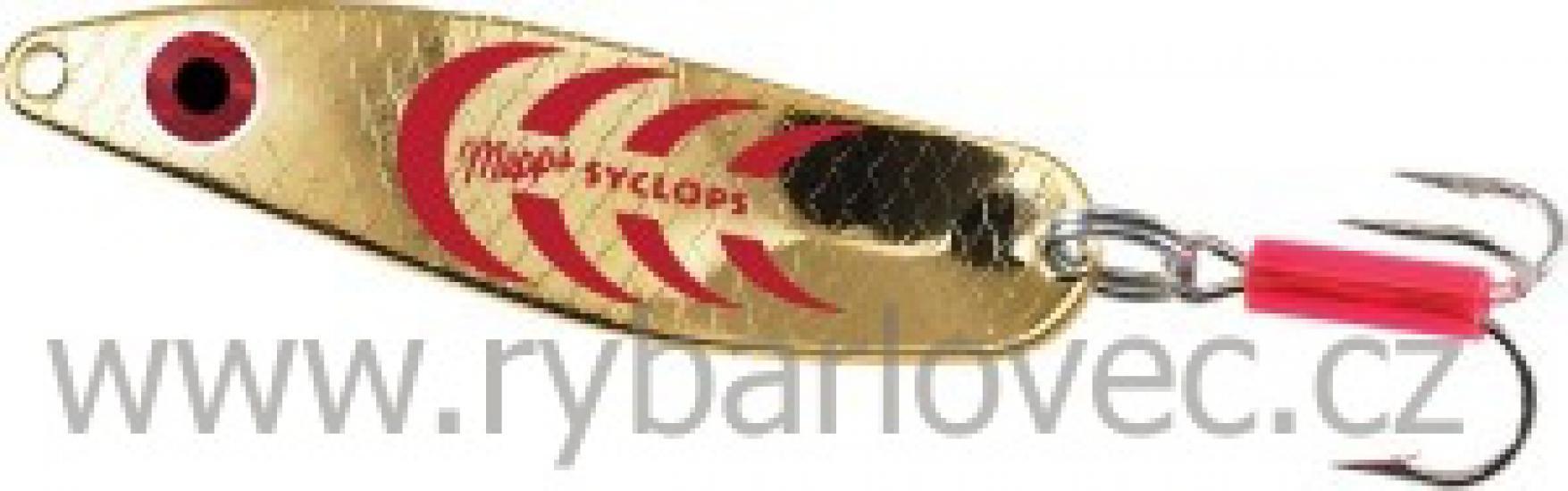Mepps syclops zlato-červená 3/26g