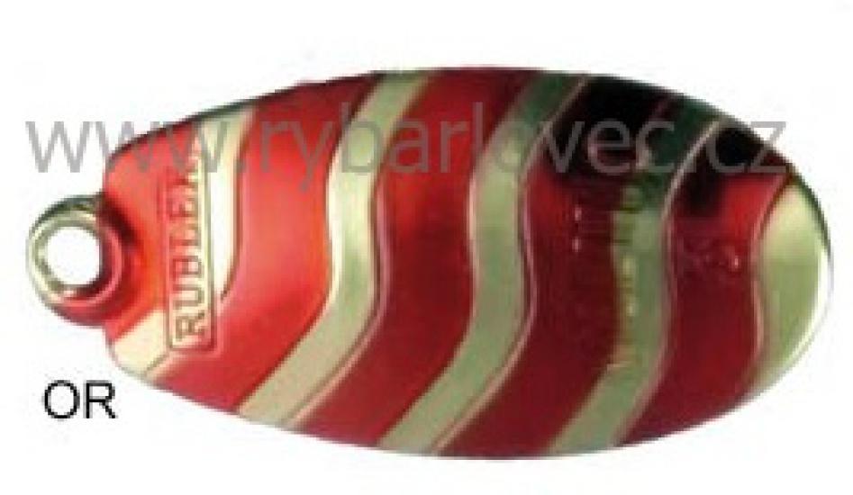 Rublex Veltic OR zlatý-červené pásky 2/3,5g