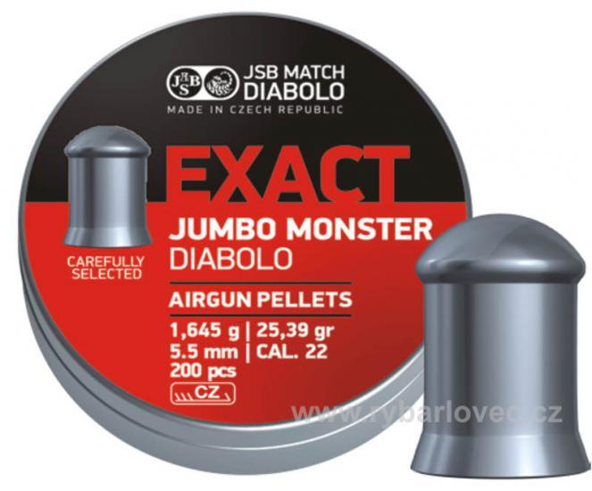 Exact Jumbo Monster 5,52mm/200ks