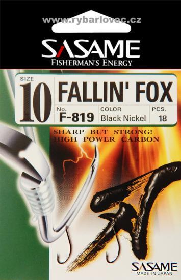 Háčky Sasame Fallin Fox s lopatkou vel.13
