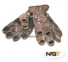 NGT Rukavice Camo Neoprene Gloves vel.L