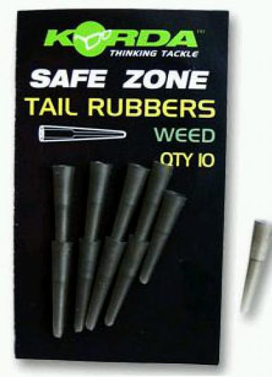 Korda Tail Rubbers 10 ks Silt