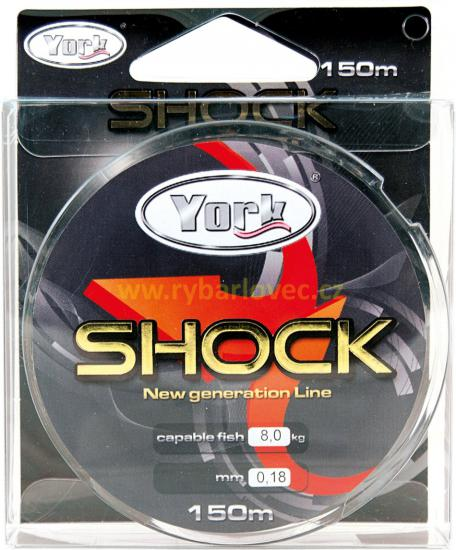 Vlasec York Shock 0,14mm - 150m