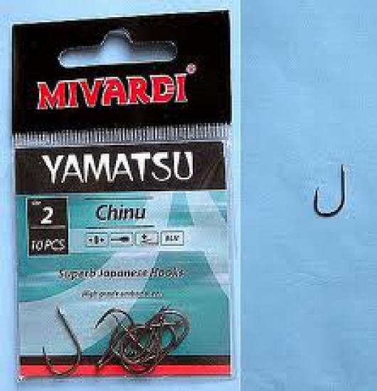 Háčky Yamatsu Chinu 2 s lopatkou