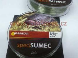 Vlasec Albastar Speci Sumec 0,60mm/200m 28,0kg