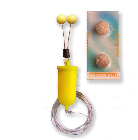Číhátko Bubeník bateriové bal.2ks červené,žluté