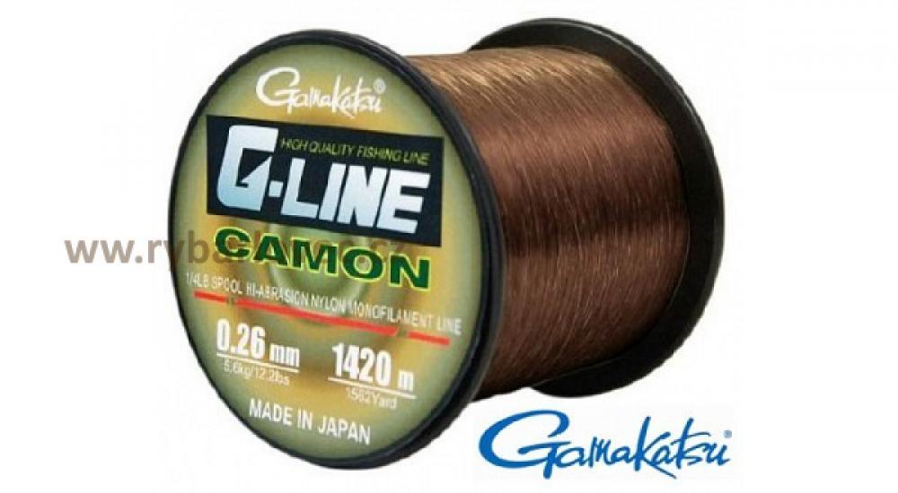 Gamakatsu G-Line Camon 0,26mm/1420m 5,6kg