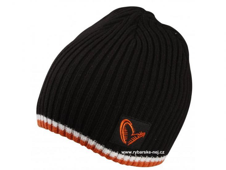 Čepice zimní SAVAGE GEAR Knitted Beanie