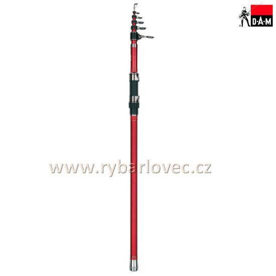 Prut DAM Steelpower Red G2Tele Surf 100-250g 4,20m