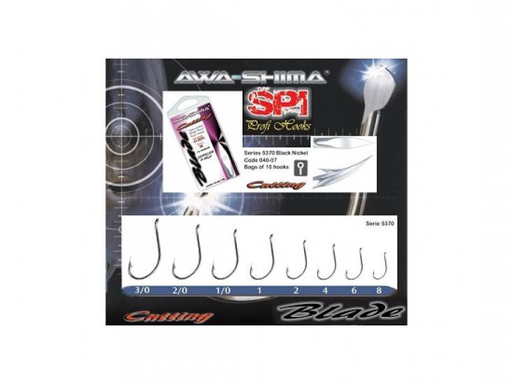 Háčky Awa-shima Cutting Blade 5370 vel.1/0