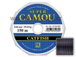 Vlasec Dragon Super Camou Catfish 0,60mm/150m