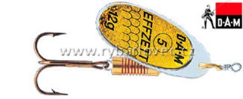 Třpytka DAM EFFZETT 4g reflexní žlutá