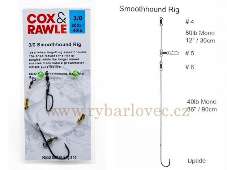Cox Rawle Smoothhound 3/0 Rig mořský návazec