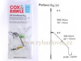 Cox Rawle Portland Rig 3/0 mořský návazec