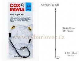 Cox Rawle Conger Rig 8/0 mořský návazec