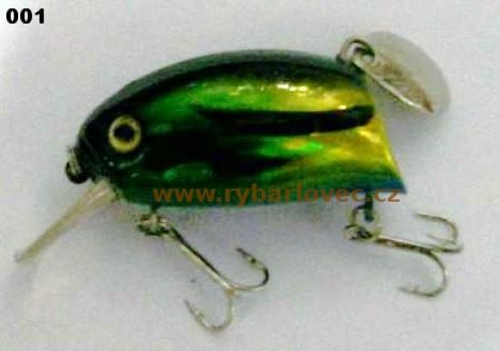 Wobler Awa-shima Hyper Dive Buzzin Bug 4,5cm