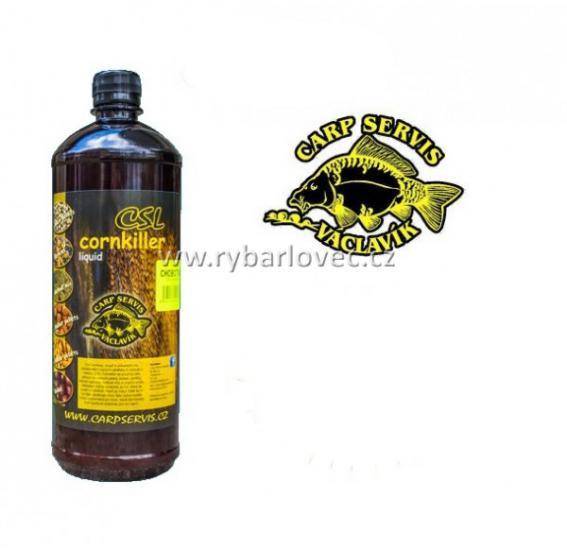 CSL Cornkiller Liquid - 1 l přírodní játra