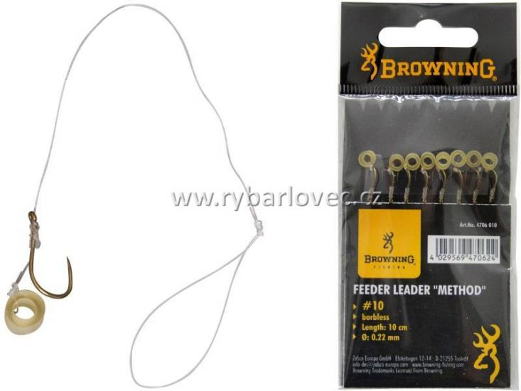 Návazec feeder Browning Leader Method vel.16
