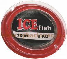 ICE fish lanko na kolečku camou 10m/9kg,12kg,20kg