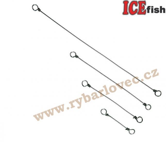 ICE fish drátové závěs 0,6mm/11cm - 5ks v bal.