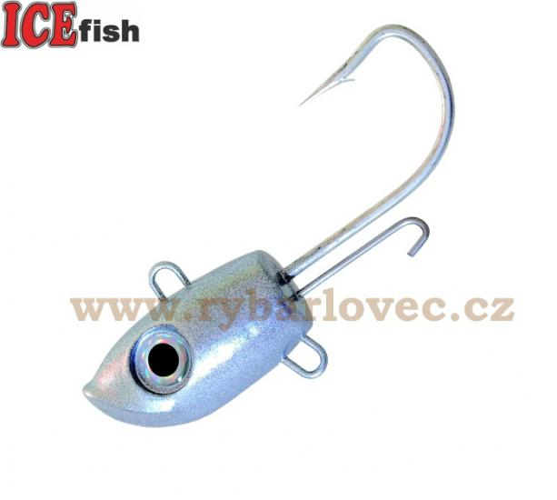 ICE fish Jig hlava SEA -S 8/0 - 170g - 2ks v bal.