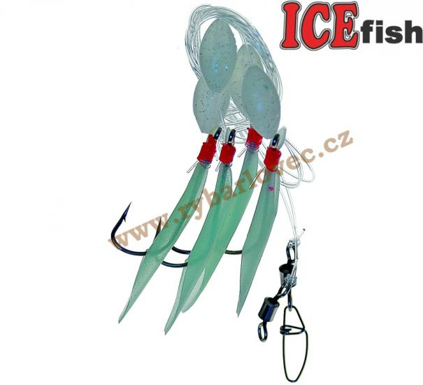 ICE fish Návazec moře trubička 5/0-0,80mm