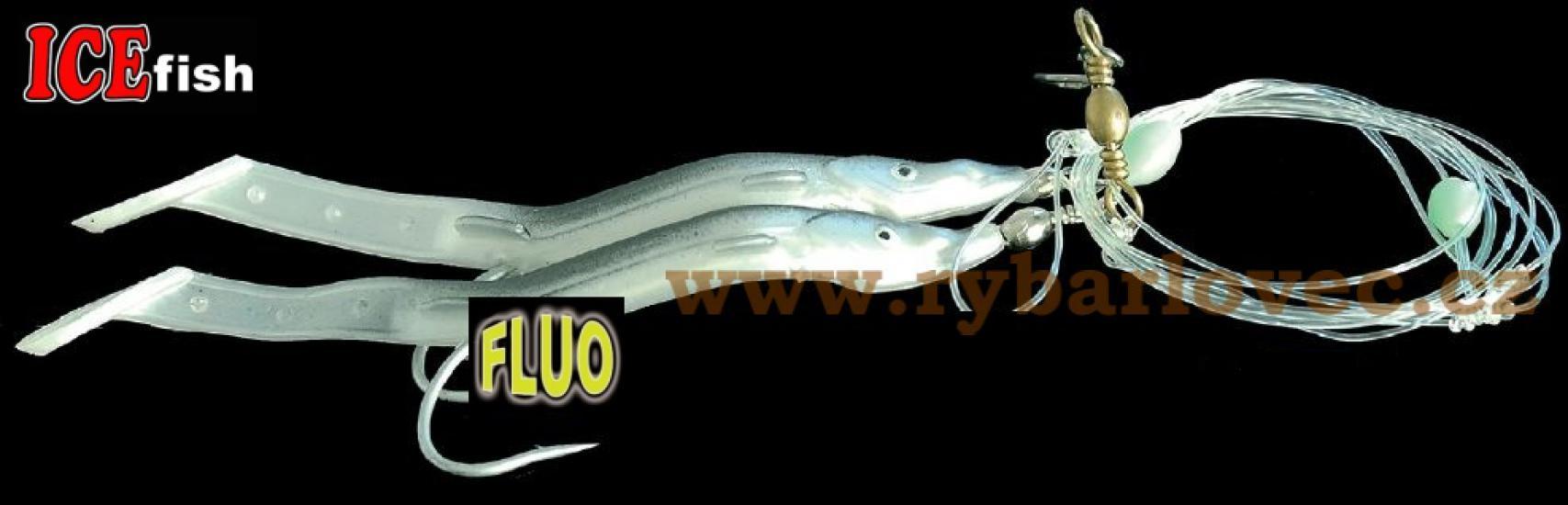 ICE fish Úhoříci návazec na moře 14cm - 8/0