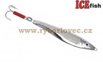 ICE fish Pilker NOR stříbrný 80g