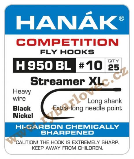 Muškařský háček bez protihrotu H 950 BL-25ks v bal