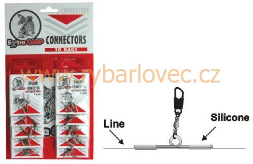 Konektor na anglický splávek 9159 s karabinkou