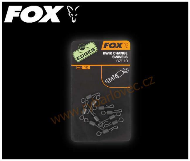 FOX rychloobratlík Edges kwik change swiles vel.7
