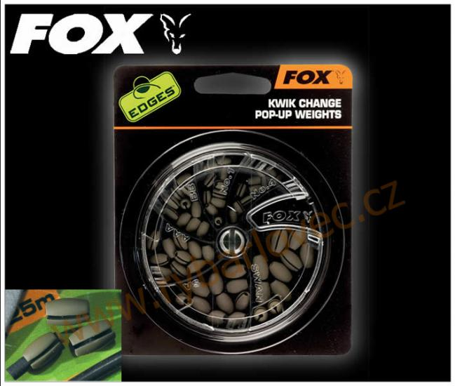 FOX broky Edges kwik change pop-up weights