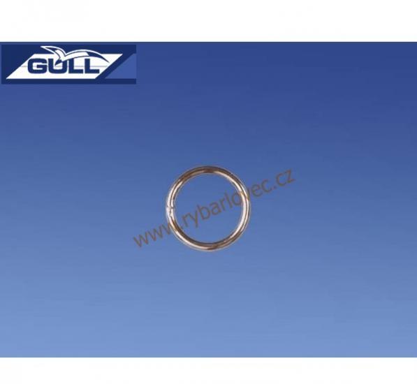 Kroužek Gull spojovací, dělený vel. 3/3kg