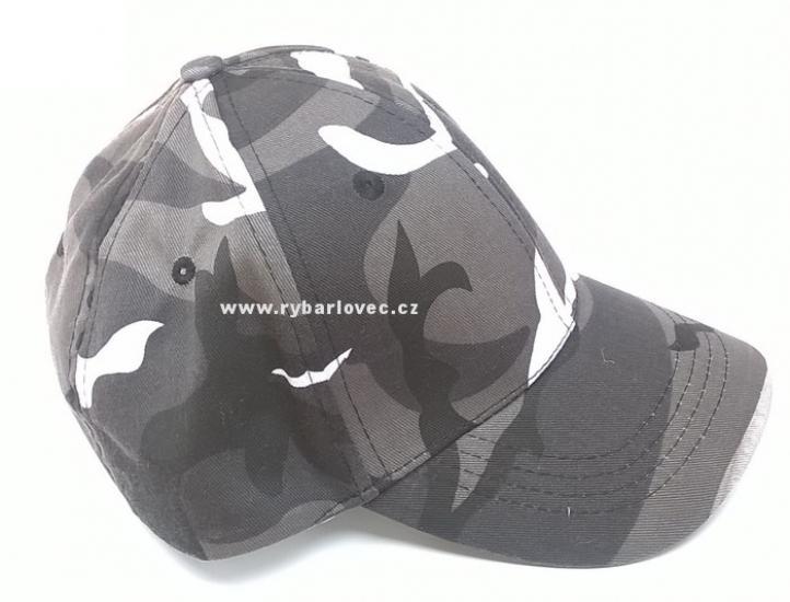 Čepice s kšiltem dětská MilTec maskáčová