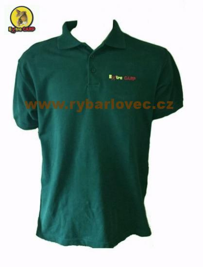 Extra Carp Polo Tričko Dark Green
