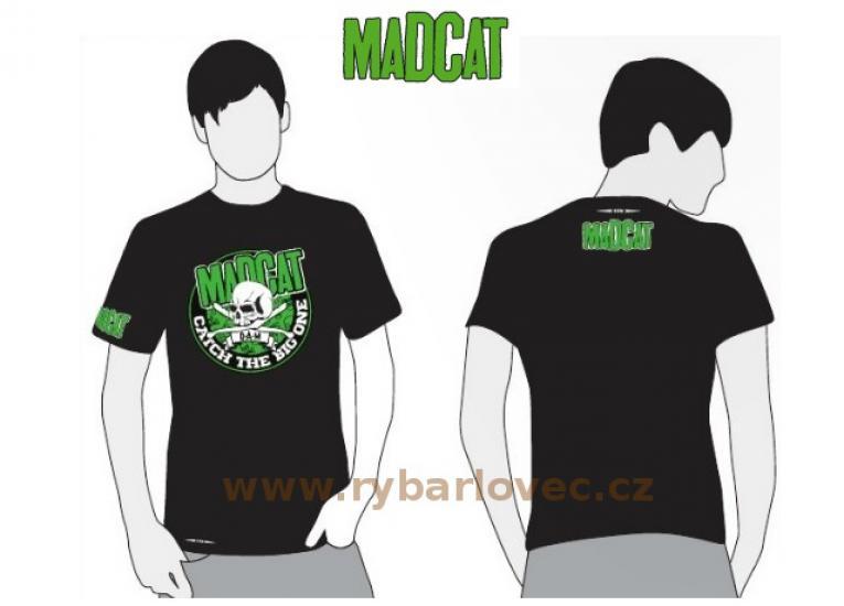 Tričko MADCAT černé vel.L