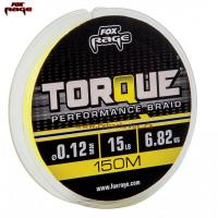 Fox Rage šňůra Torque Braid Yellow 150m/0,08mm