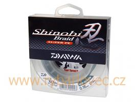 Šnůra Shinobi tmavě zelená 270m/ 0,28mm