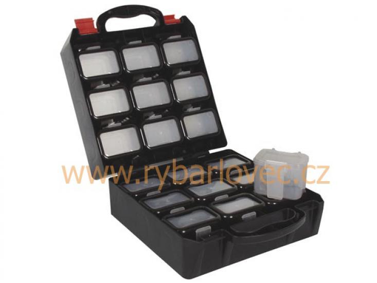 Box plastový + závěsné krabičky