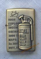 Stylový zapalovač na benzin WAMEX